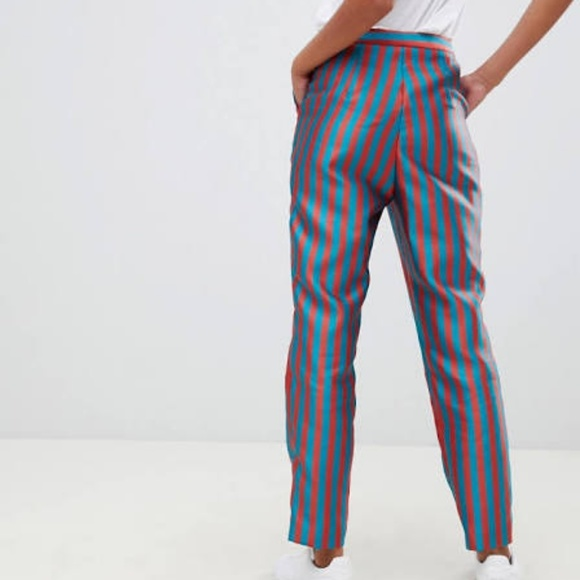 ASOS Pants - ASOS Striped Jacquard Pants - size 2